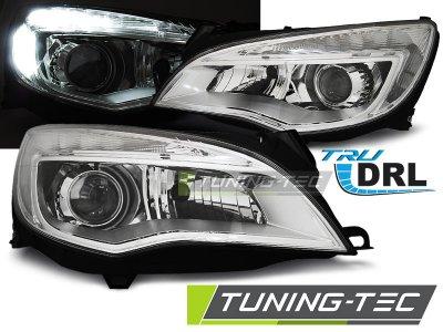 Фары передние Daylight Chrome от Tuning-Tec на Opel Astra J