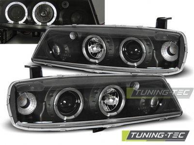 Фары передние Angel Eyes Black от Tuning-Tec на Opel Calibra