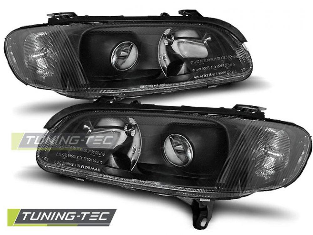 Фары передние Black от Tuning-Tec на Opel Omega B