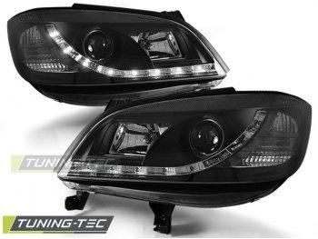 Передние фары Daylight Black от Tuning-Tec на Opel Zafira A