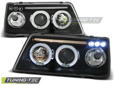 Фары передние LED Angel Eyes Black от Tuning-Tec на Peugeot 205