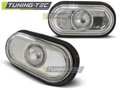Повторители поворота Chrome от Tuning-Tec на Renault Clio I