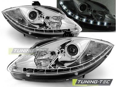 Фары передние Daylight Chrome от Tuning-Tec на Seat Altea 5P