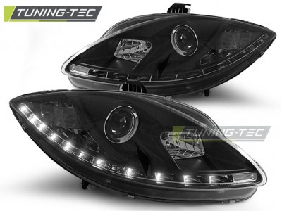 Фары передние Daylight Black от Tuning-Tec на Seat Altea 5P