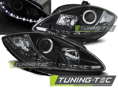 Фары передние Daylight Black от Tuning-Tec на Seat Altea 5P рестайл