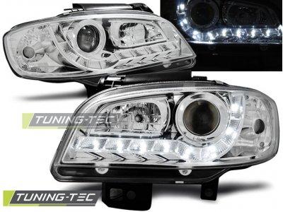 Фары передние Daylight Chrome от Tuning-Tec на Seat Cordoba I рестайл