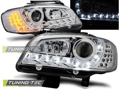 Фары передние Daylight LED Chrome от Tuning-Tec на Seat Cordoba I рестайл