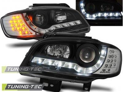 Фары передние Daylight LED Black от Tuning-Tec на Seat Cordoba I рестайл