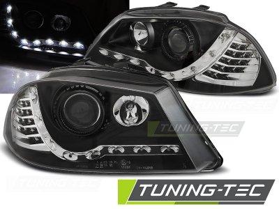 Фары передние Full LED Daylight Black на Seat Cordoba II