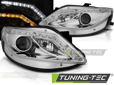 Фары передние Daylight Mono LED Chrome на Seat Ibiza 6J