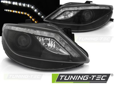 Фары передние Daylight Mono LED Black на Seat Ibiza 6J