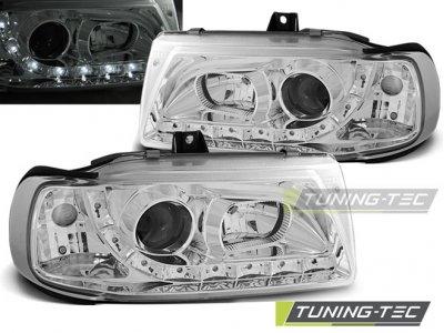 Фары передние Daylight Chrome от Tuning-Tec на Seat Ibiza 6K