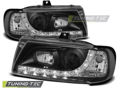 Фары передние Daylight Black от Tuning-Tec на Seat Ibiza 6K
