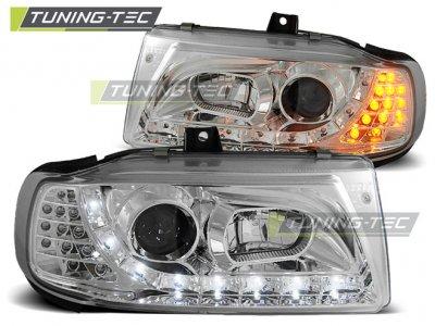 Фары передние Daylight LED Chrome от Tuning-Tec на Seat Ibiza 6K