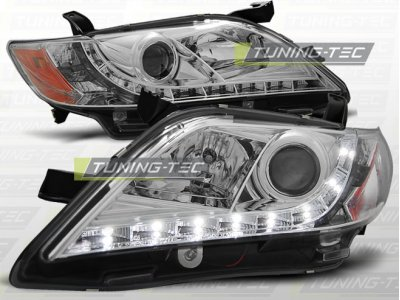 Фары передние Daylight Chrome на Toyota Camry XV40