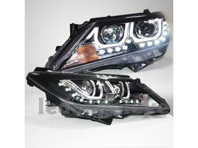 Фары передние CCFL Daylight Black Var2 от Liyuan Lights на Toyota Camry XV50