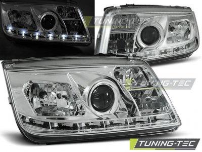 Фары передние Daylight Chrome от Tuning-Tec на Volkswagen Bora
