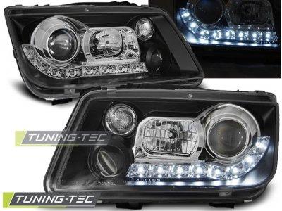 Фары передние Daylight Black Var2 от Tuning-Tec на Volkswagen Bora