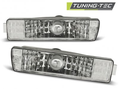 Указатели поворота Chrome от Tuning-Tec на Volkswagen Golf II