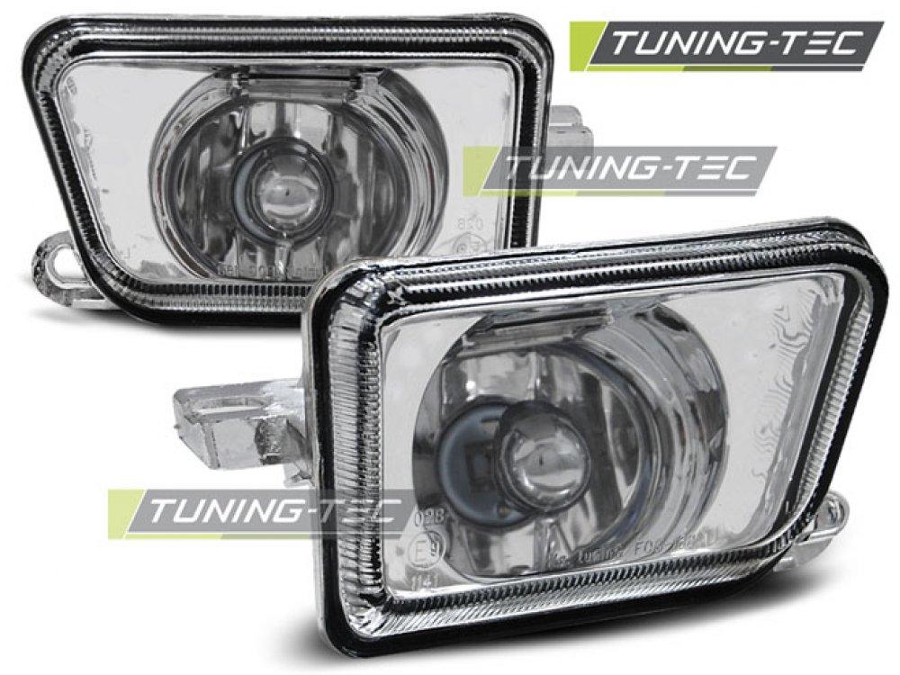 Альтернативные противотуманные фары Chrome от Tuning-Tec на Volkswagen Golf II