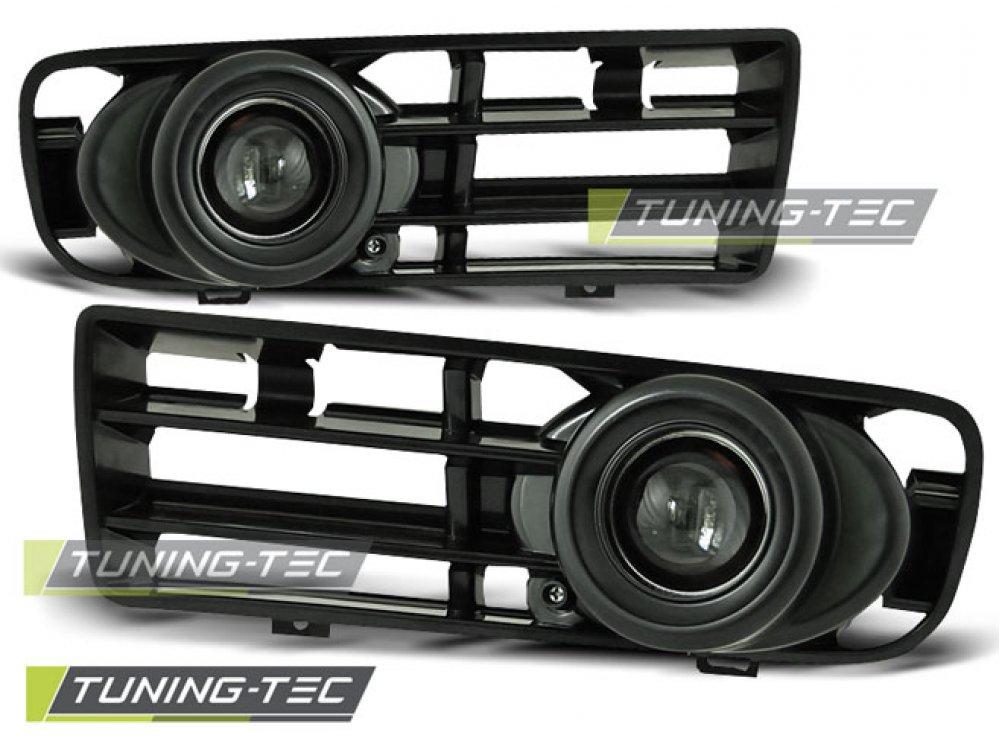 Альтернативные ПТФ с линзой Black от Tuning-Tec на VW Golf IV