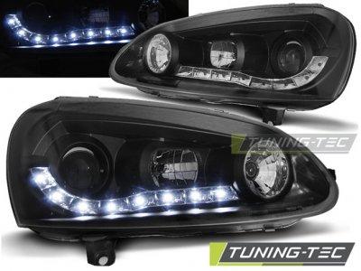 Фары передние Daylight Black от Tuning-Tec на Volkswagen Golf V