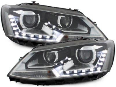 Фары передние Dlite Black на Volkswagen Jetta VI