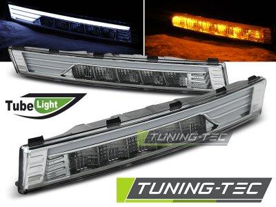 Указатели поворота Tube Light LED Chrome на Volkswagen Passat B6 3C