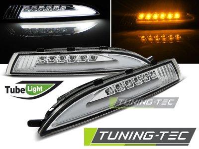 Указатели поворота TubeLight LED Chrome на Volkswagen Scirocco III