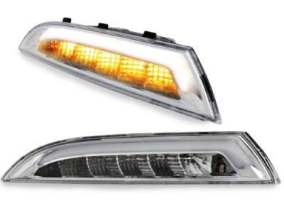 Указатели поворота CarDNA LED Chrome на Volkswagen Scirocco III