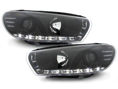 Фары передние Dlite Black на Volkswagen Scirocco III
