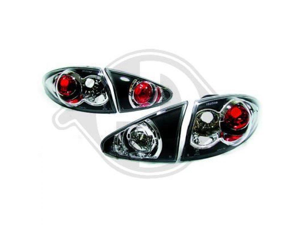 Задние фонари Black от HD на Alfa Romeo 147
