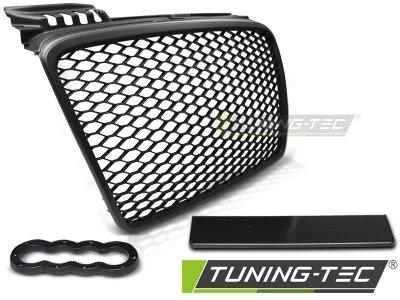 Решётка радиатора от Tuning-Tec Black RS Style на Audi A4 B7