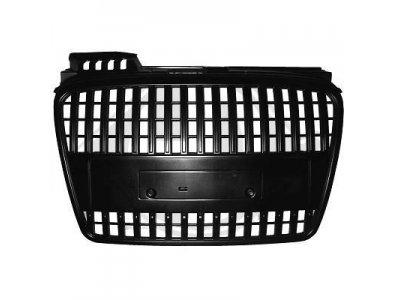 Решётка радиатора от HD Black S-Line Style на Audi A4 B7