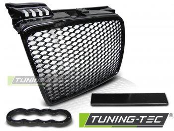Решётка радиатора от Tuning-Tec Glossy Black RS Style на Audi A4 B7