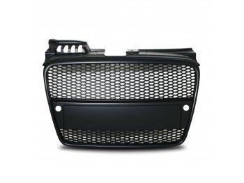 Решётка радиатора от Jom Black под парктроники на Audi A4 B7