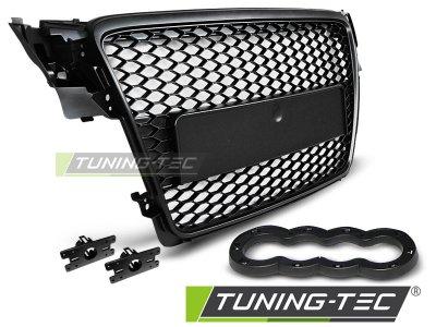 Решётка радиатора от Tuning-Tec Black RS Look на Audi A4 B8