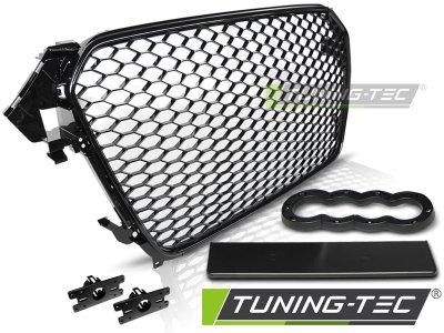 Решётка радиатора от Tuning-Tec Glossy Black RS Look на Audi A4 B8 рестайл