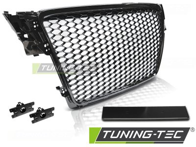Решётка радиатора от Tuning-Tec Glossy Black RS Look на Audi A4 B8