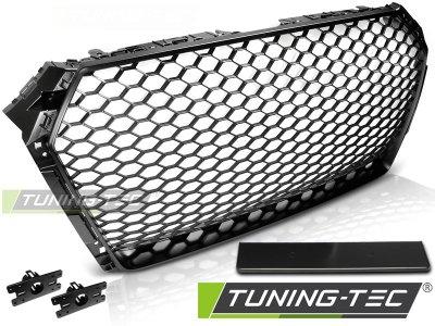 Решётка радиатора от Tuning-Tec Matt Black RS Look на Audi A4 B9