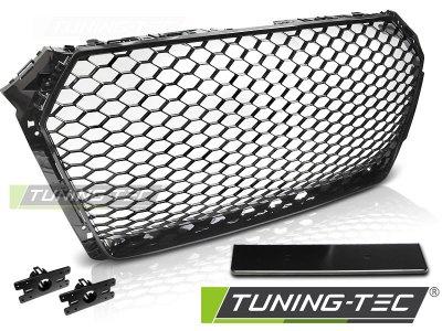 Решётка радиатора от Tuning-Tec Glossy Black RS Look на Audi A4 B9