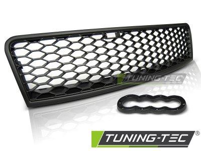 Решётка радиатора от Tuning-Tec Black RS Look на Audi A6 C5 рестайл