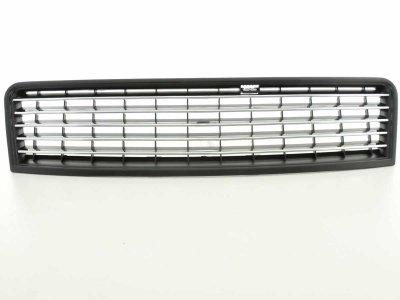 Решётка радиатора от FK Automotive Black Chrome на Audi A6 C5 рестайл