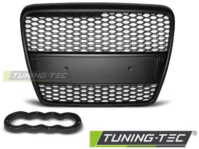 Решётка радиатора от Tuning-Tec RS Look Black на Audi A6 C6