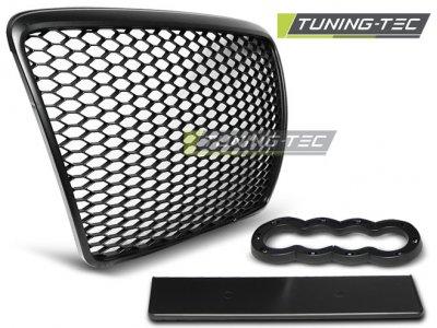 Решётка радиатора от Tuning-Tec RS Look Black на Audi A6 C6 рестайл