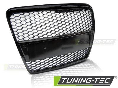 Решётка радиатора от Tuning-Tec RS Look Glossy Black на Audi A6 C6