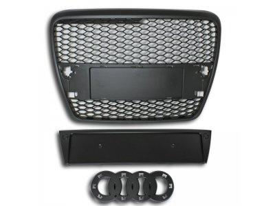 Решётка радиатора от Jom Black RS Look на Audi A6 C6 4F