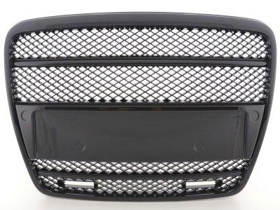 Решётка радиатора от FK Automotive Black с DRL на Audi A6 C6