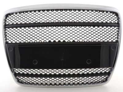 Решётка радиатора от FK Automotive Black Chrome на Audi A6 C6