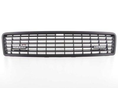 Решётка радиатора с DRL от FK Automotive Black на Audi A8 D2